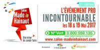 Nous exposons au salon Made in Hainaut
